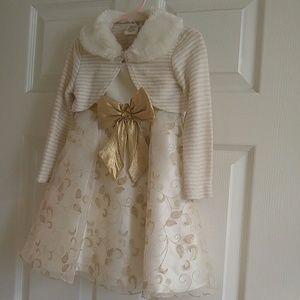 GORGEOUS little girl dress! Size 4t.